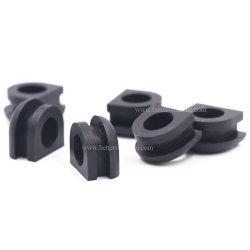 الحلقة المعدنية المقولبة بالضغط بيضاوي الشكل/NBR/EPDM/FKM جدار حماية السيارات المطاط كابل السلك