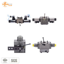 La réduction de l'électrovanne haute pression hydraulique/directionnelle/Servo/électrique proportionnel/directionnelle/Valve de commande du diviseur de débit avec moteur de pompe Rexroth