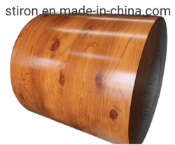 Bobinas de acero con recubrimiento de color impreso de la bobina de acero galvanizado de zinc de alta los productos de acero