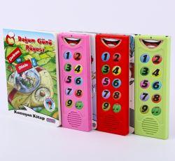 Mais novo gosta de brinquedos educativos Kids Livros música CATÁLOGO PERSONALIZADO