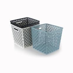 목욕탕과 가구를 위한 플라스틱에 의하여 길쌈되는 저장 세탁물 바구니