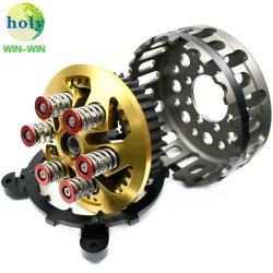 La precisión de mecanizado CNC de repuesto de motos Canasta de embrague en seco las piezas del motor