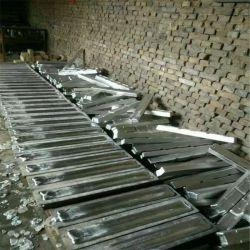 Lingotti in alluminio puro e vendita a caldo purezza 99.9% Prezzo di fabbrica