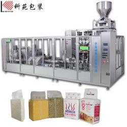 Automatique Kyv500n 70g-250g-500g-1kg sac de brique emballage sous vide à l'emballage de la machine pour la farine de blé, de café en poudre, levure/thé, riz Haricots, pois chiches, d'alimentation