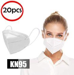 塵、花粉、ペットDanderからの保護のための呼吸の保護安全KN95マスクそしてセット