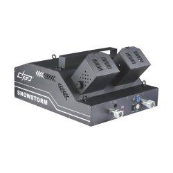 Shooter doble fase de control DMX 100 W efecto niebla de humo maquina confeti