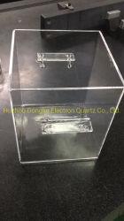 Кварц бак для очистки пластин с размером 250*250*250 мм
