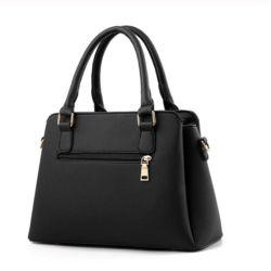 Caixas Abertas de couro Bag Top-Handle Bordados Crossbody Bag Saco a tiracolo Senhora Estilo Simples sacos de mão