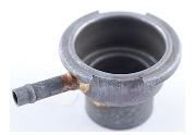 """Ferro de gargalo do radiador do tubo com &3/4""""Calça feita pela passagem de Múltiplos Estampagem e Soldagem"""