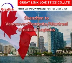 Betrouwbare Cheapest (LCL, 20FT, 40FT, 40hq) DDU DDP Logistics Service Sea Freight Sea Shipping From China aan Canada