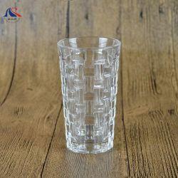 200ml Kaffeetasse-Webart-Entwurfs-Tee, der Highball Glas-Trommel trinkt