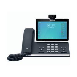 Yealink Android basé smart phone T58A avec la caméra SIP-t58d'un téléphone IP professionnel à puce
