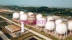Enirc 맞춤형 5000톤 LPG 구형 탱크 10000m3 프로판 가스 스토리지 나이지리아용 터미널