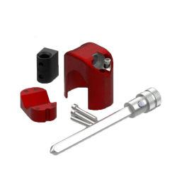 Yh1817 شركة أللوي لصناعة الصلب قفل السيارات سيارة مخبأة قفل دواسة قابض الخانق للفرامل المانعة للسرقة