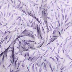 Polyester Jacquard und Streifen Chiffon mit Druckstoff für Shirt