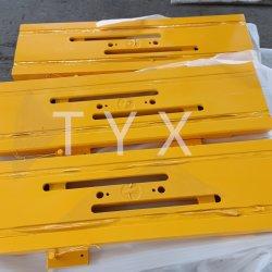 Parte di saldatura e lavorazione dell'acciaio parte di ricambio per macchinari CNC di precisione