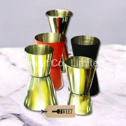 Commerce de gros tasse à vin en acier inoxydable résistant en verre Shot 1oz