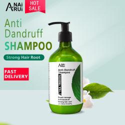 Etiqueta Privada chá natural do óleo da árvore de Cuidados com o cabelo com a reparar os danos Anti-Dandruff Shampoo de cabelo