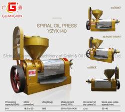 Schrauben-Öl-aufbereitende Maschinen-Presse-Sesam-Startwert- für Zufallsgeneratoröl-Leinsamen-Senf-Startwert- für Zufallsgeneratoröl