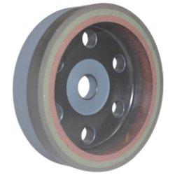 유리 및 석재 3색 수지 연삭 컵 휠 6인치 알루미늄 플레이트 기술 OEM
