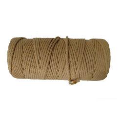 Corda pura 100% decorativa del cotone della stringa tessuta mano