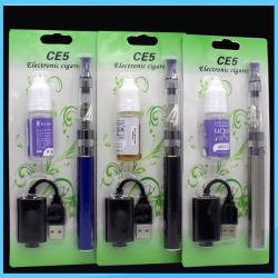 1100mAh Batterie emballées avec 10ml d'huile Cigarette électronique EGO Vape CE-5 Pen
