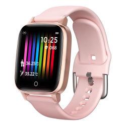 T1 Exercice de surveillance Smart étanches IP67 Bracelet de surveillance de la température corporelle Smart Watch