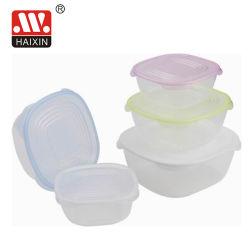 Effacer les fruits de plastique recyclé seul PP Cuisine conteneur de stockage d'emballage alimentaire