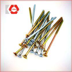 Acero al carbono aglomerado tornillos DIN7505 con precio preferencial y alta resistencia