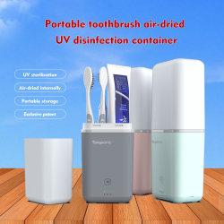 Draagbare tandenborstel met UV-sterilisator