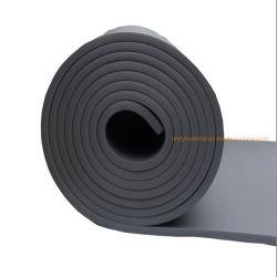 난연성 방열 벽 패널 고무 플라스틱 스폰지 알루미늄 호일 코팅이 코팅된 폼 시트 롤 스티커가 있는 베니어 유형