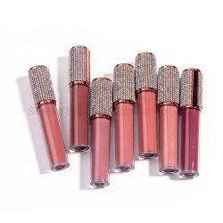 Meilleure vente de haute qualité cosmétique maquillage Lipgloss Diamond de longue durée matte liquide étanche rouge à lèvres brillant à lèvres