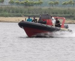 أكوالاند 30ft 9m 16 شخص دورية الراب العسكرية / سرعة قابلة للانتفاخ الصلب قارب إنقاذ بمحرك من الفئة B (RIB900)