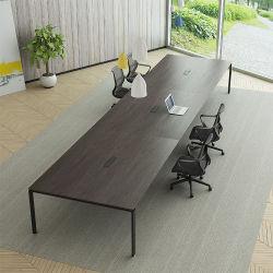 Madeira de melamina Chinses moderna mesa de conferência em mobiliário de escritório