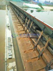 작은 수력 전기 프로젝트를 위한 Shiled 밝은 유형 고무 댐