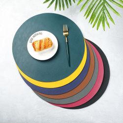 Placemat&Coaster colore personalizzabile impermeabile e resistente all'olio in PVC a basso costo