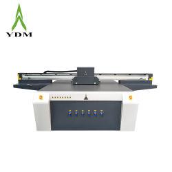 Ydm 2 * 3m 대형 포맷 인쇄 머신 UV LED 평판 프린터 목재/유리/전화 케이스