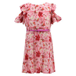Venda por grosso de compras on-line elegante Flor africana Imprimir Coreano roupas de Verão se desgasta vestidos linda princesa Vestido de festa de aniversário de modelo para o Bebé Kids Meninas