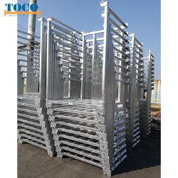 مواد البناء الاقتصادية للخدمة الشاقة منصة الرفع المتنقلة مع لوح بمنصة بلاستيكية