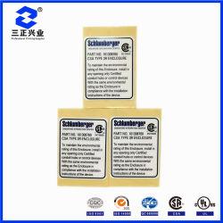 Instructions d'installation Custom-Designed matériel résistant aux intempéries pour les plaques signalétiques autoadhésif