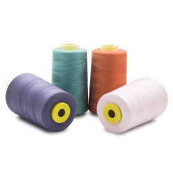 402 Machine à tricoter tissée de fils à coudre en polyester