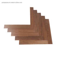 Pavimento di parchè di Blackwalnut Chevron, parchè Herringbone, mattonelle di pavimentazione di legno