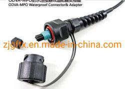 Wasserdichte MPO-Kabelsysteme für den Außenbereich mit Glasfaser