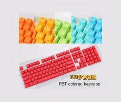 Цветные колпачки ключа 8 цветов Колпачки для клавиш клавиатуры 108 ПК на базе механического Вандалозащищенными PBT материала