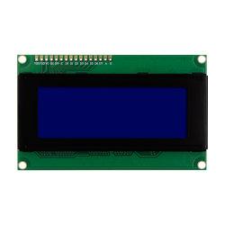 شاشة LCD من النوع الأزرق LCM 5 فولت Stn، 2004 20X4 وحدة التحكم