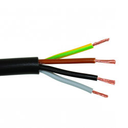 سلك مقوى 60227 IEC 52 بطول 64 مم، 16 مم، طاقة مقوى 6vv سعر كبل نحاسي كهربائي لكل متر