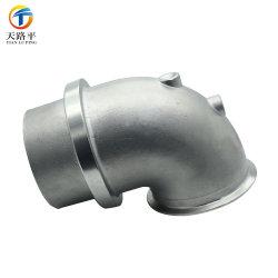 OEM에 의하여 주문을 받아서 만들어진 알루미늄 모래 주물은 또는 주조 알루미늄 합금 관 이음쇠 또는 관 결합을 정지한다