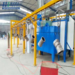 Impianto di verniciatura a polvere ad alta durata per staffa a serra Produzione