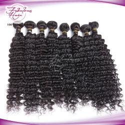 سميك إنهاءات شعر الإنسان عميق كوريل 12بوصة - 30 بوصة عذراء منغولية الشعر