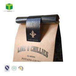 Il sacchetto della carta kraft Per i sacchetti di caffè Nuts della carta kraft Della frutta secca per i sacchi di carta Nuts del popcorn del chicco di caffè/ha conservato il sacchetto impaccante della frutta